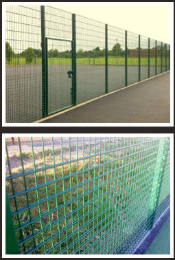 Zaun tennis court fencing