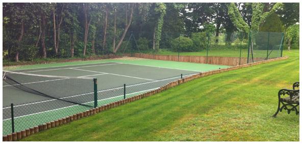 Grass View court