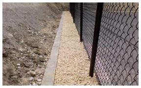 Court construction gravel