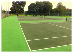 Tennis Court Construction - Sovereign Sports