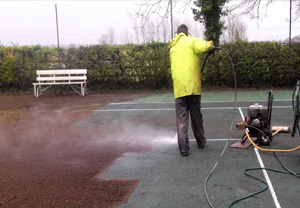During Court Maintenance