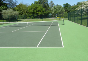 Colour Sprayed Court