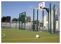 Tennis court fencing - Sovereign Sports