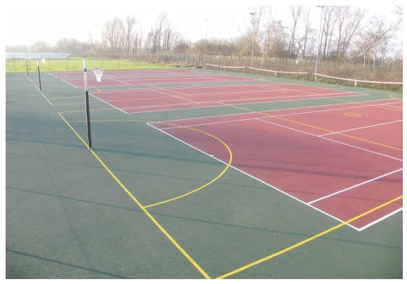 Netball Surfaces And Resurfacing Sovereign Sports