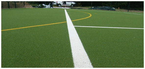 Synthetic Grass Tennis Court Surfaces Image