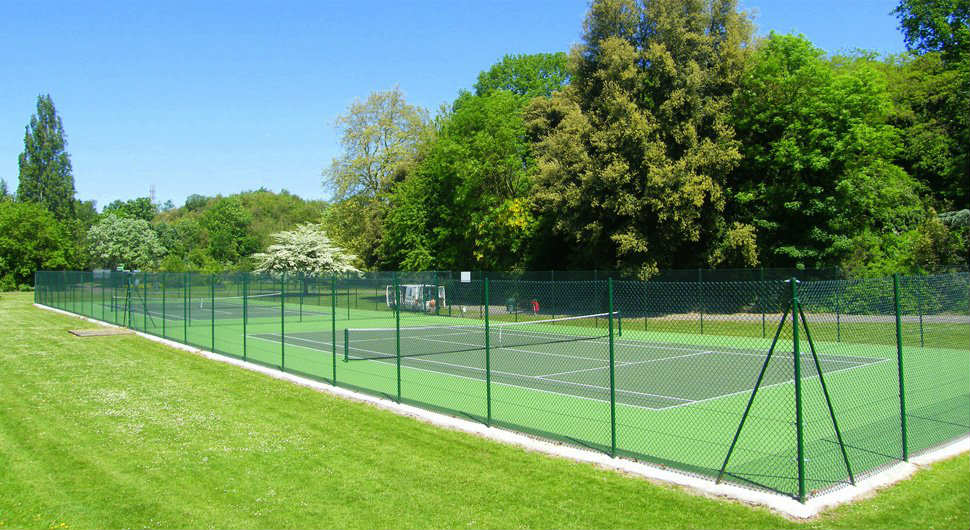 Full Tennis Court Construction In West Sussex