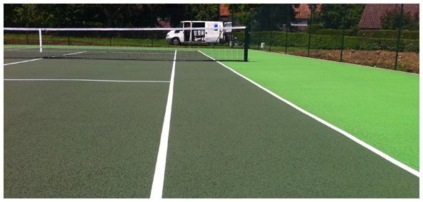 Tennis Court Surfaces Image