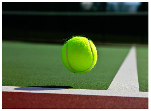 Tennis Court Closeup