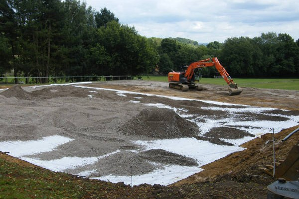 MUGA/Tennis Court Installation in Oxted, Surrey 4