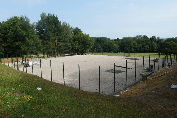 MUGA/Tennis Court Installation in Oxted, Surrey 6