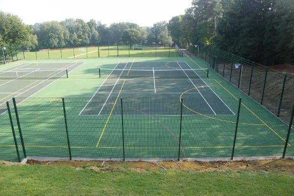 MUGA/Tennis Court Installation in Oxted, Surrey 7