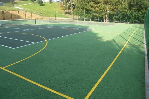 MUGA/Tennis Court Installation in Oxted, Surrey 8