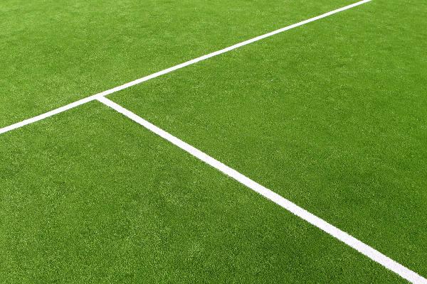 Tennis court closeup